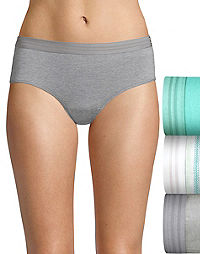 Hanes Ultimate® Women's Constant Comfort® X-Temp® Hipster 3-Pack