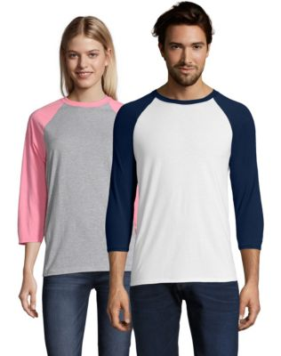 Hanes X-Temp® Unisex Performance Baseball Tee