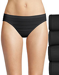 Hanes Ultimate™ Comfort Flex Fit® Bikini 4-Pack