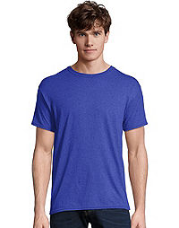Hanes Men's FreshIQ™ X-Temp® Tri-Blend Performance Crewneck Tee