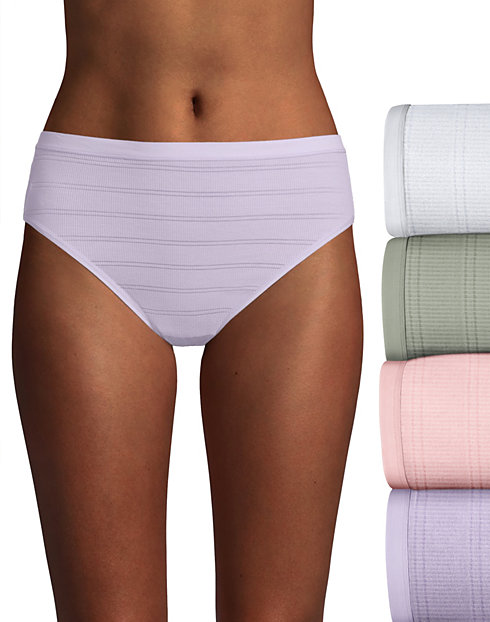 Hanes Ultimate™ Comfort Flex Fit® Hi-Cut 4-Pack