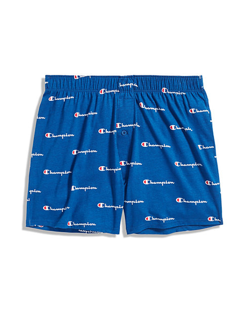 Champion Life™ Men's Logo Knit Boxer 1-Pair