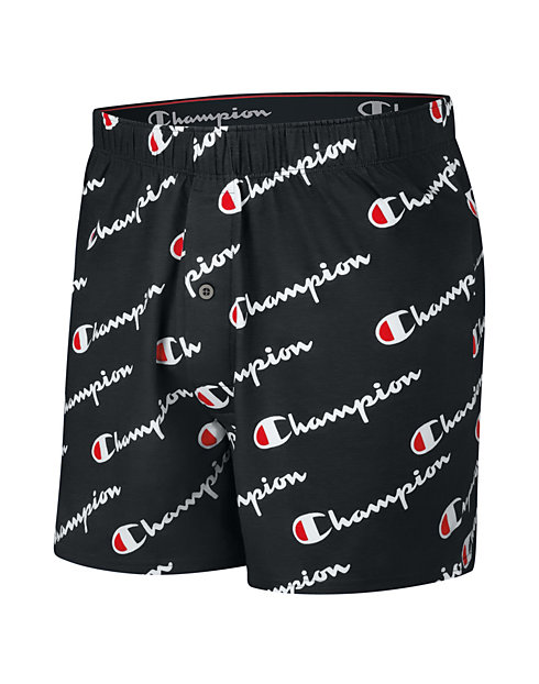 Champion Life™ Men's C Logo Knit Boxer,  1-Pair