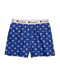 Champion Life™ Men's Logo Stretch Woven Boxer 1-Pair