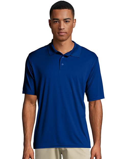 Hanes Sport™ Men's FreshIQ™ Cool DRI® Performance Polo