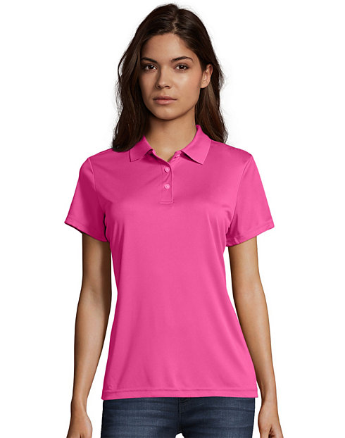 Hanes Sport™ Women's FreshIQ™ Cool DRI® Performance Polo