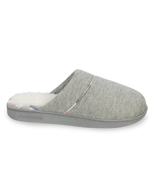 Dearfoams Women's Casual Knit Closed Toe Scuff Slipper
