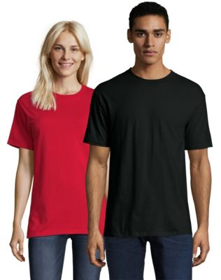red t shirt sleeve
