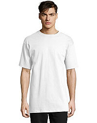 1a23939a06f1 Hanes Men's Tall Beefy-T Crewneck Short-Sleeve T-Shirt LT-4XLT