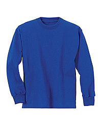 Hanes Youth TAGLESS® ComfortSoft® Long-Sleeve T-Shirt