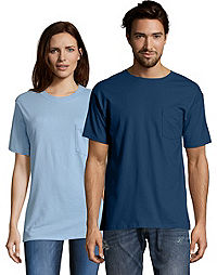 Hanes Men's TAGLESS® Pocket Short-Sleeve T-Shirt