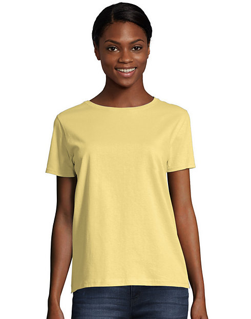 42c799fc6 Hanes Women s Relaxed Fit Jersey T-Shirt