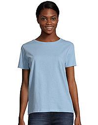 Hanes Women's Relaxed Fit Jersey ComfortSoft® Crewneck T-Shirt