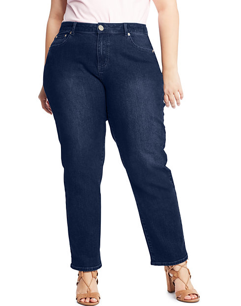 JMS 5-Pocket Stretch Jeans with Side Elastic