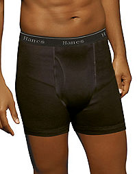 Hanes Ultimate™ Men's FreshIQ™  ComfortSoft® Boxer Briefs 5-Pack