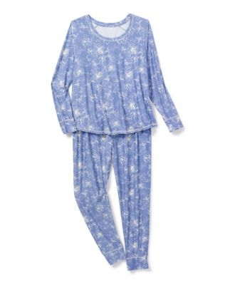 Hanes Plus Yummy Jersey PJ Set