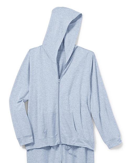 Hanes Women's Plus Heathered French Terry Zip Hoodie