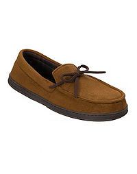 Men's Dearfoam Felted and Plaid Lining Clogs with Memory Foam