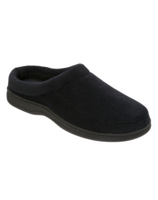Men's Dearfoam Corduroy Moccassin Clogs with Memory Foam