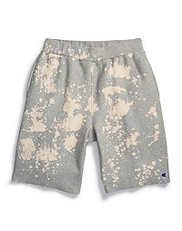 Champion Life® Men's Reverse Weave™ Custom Bleach Splatter Shorts