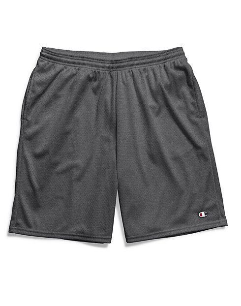 e920a91e0e65 Long Mesh Shorts with Pockets