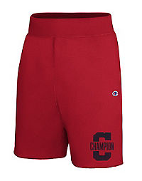 Champion Men's Heritage Fleece Shorts, Letterman Leg