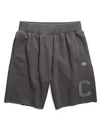 Champion Men's Heritage Fleece Shorts, Letterman Leg