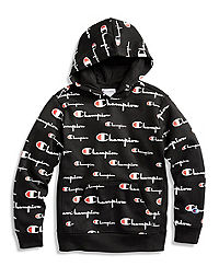 Champion Life® Youth Hoodie, All Over Logo