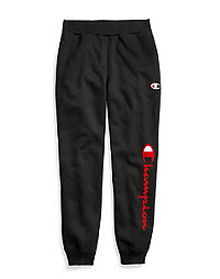 Champion Life® Youth Premium Joggers, Flocked Vertical Logo