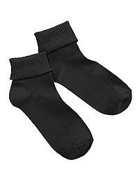 Hanes Women's ComfortSoft® Cuff Socks Extended Sizes 3-Pack