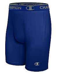 Champion Men's Power Flex Solid Compression Shorts 6-inch