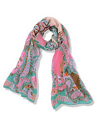 Vacation Paisley Scarf