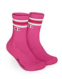 Champion Life™ C Logo Stripe Crew Sock 1-Pair