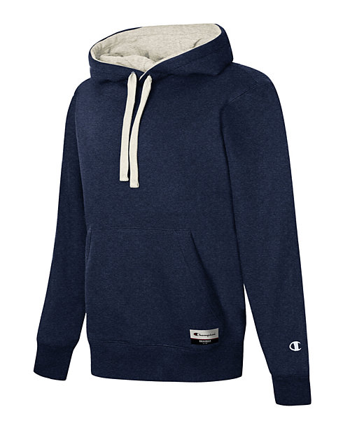 Champion Men's Sueded Fleece Pullover Hoodie