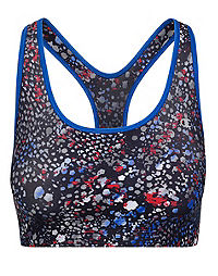Champion The Absolute Shape Print Sports Bra