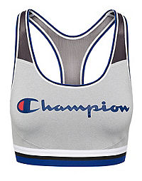 Champion The Absolute Mesh Sports Bra, Script Logo