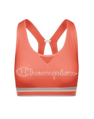 Champion The Authentic Sports Bra, Metallic Logo