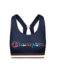 Champion The Authentic Sports Bra, Multi Color Logo