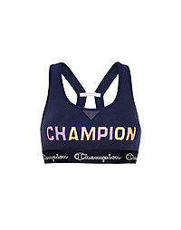 Champion The Authentic Sports Bra, Color Pop Logo