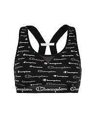 Champion The Authentic Sports Bra, Allover Logo