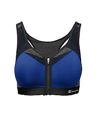 Champion Motion Control Zip Sports Bra