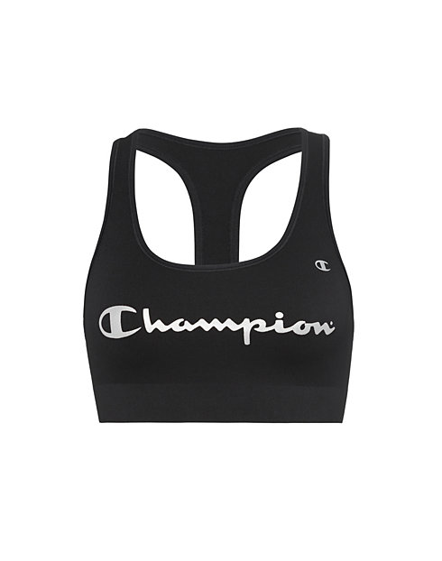 Champion Life® Absolute Sports Bra White Logo