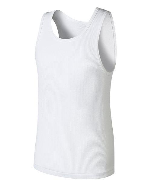 Boys' Hanes Ultimate ComfortSoft® White Tank Undershirt 5-Pack
