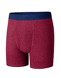 Hanes Ultimate® Boys' ComfortSoft® Cotton Boxer Briefs 4-Pack