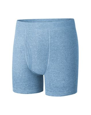Boys' Hanes Ultimate Dyed Boxer Brief with ComfortSoft® Waistband Assorted Blues 4-Pack