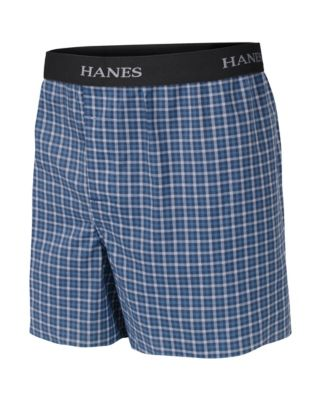 Boys' Hanes Ultimate Yarn Dye Boxer with Comfort Flex® Waistband 3-Pack