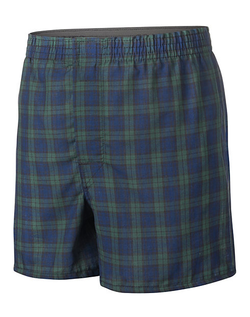 Boys' Hanes Ultimate Tartan Boxer with Comfort Flex® Waistband 3-Pack