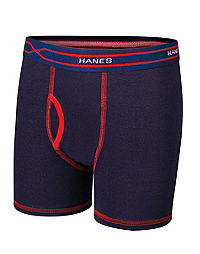 Hanes X-Temp® Boys' Boxer Brief with Comfort Flex® Waistband 4-Pack