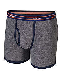 Hanes X-Temp® Boys' Ringer Boxer Brief with Comfort Flex® Waistband 4-Pack