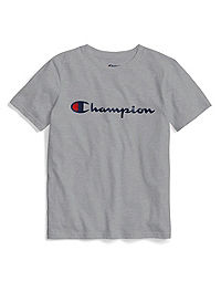 Champion Life® Youth Heritage Tee, Script Logo